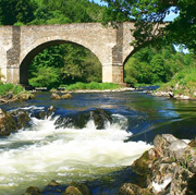 Yair Bridge in the Scottish Borders
