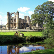 Elgin Cathedral in Moray