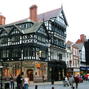Eastgate Street in Chester, Cheshire
