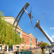 The Empowerment sculpture in Lincoln's Waterside