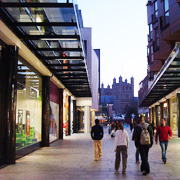 The Princesshay Shopping Centre in Exeter, Devon