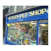 Peter's Pet Shop Logo