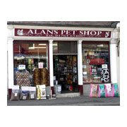 Alan's Pet Shop Logo