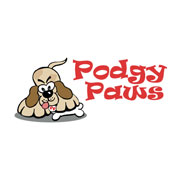 Podgy Paws Pet Shop Logo