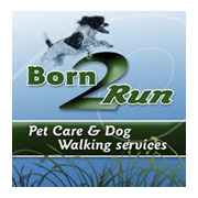 Born 2 Run Pet Care Logo